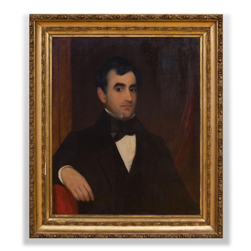 American School: Portrait of a Gentleman