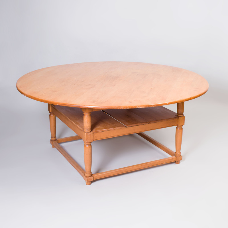 Rustic Fruitwood Dining Table, of Recent Manufacture