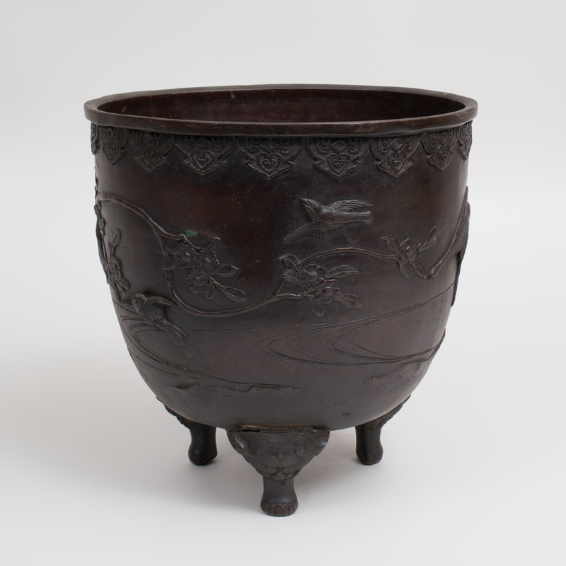Chinese Bronze Tripod Censer