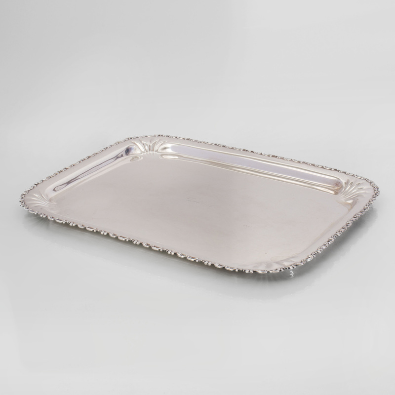 Whiting Manufacturing Co. Silver Tray