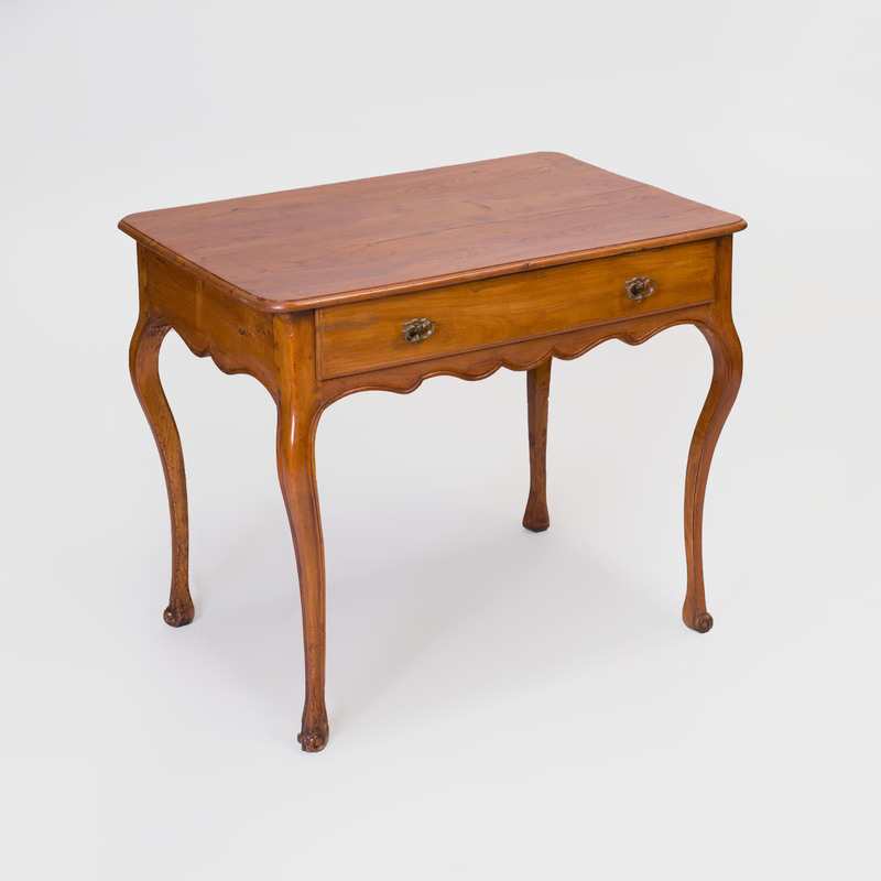 Louis XV Provincial Fruitwood Side Table