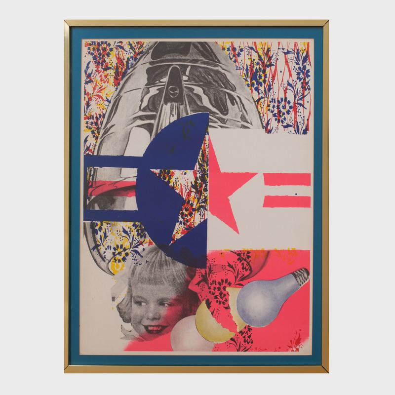 James Rosenquist (1933-2017):Castelli Gallery Poster