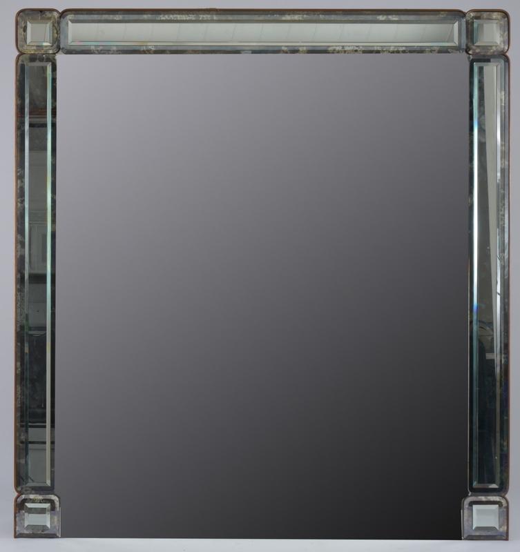 Modern Bevelled Mirror