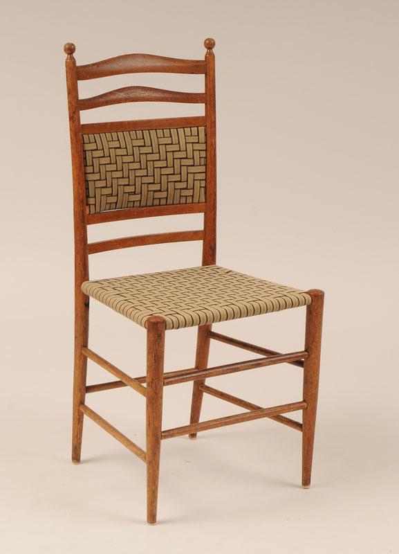 American Oak Side Chair
