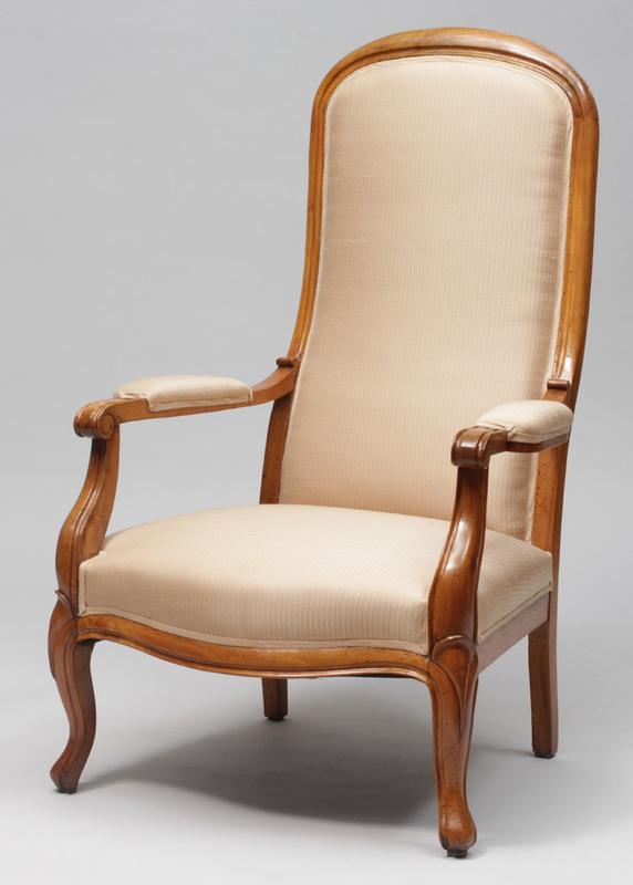 Victorian Fruitwood Armchair