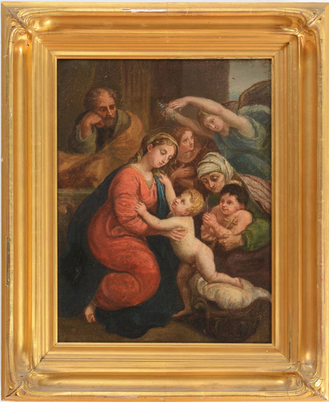 CONTINENTAL SCHOOL: MADONNA AND CHILD