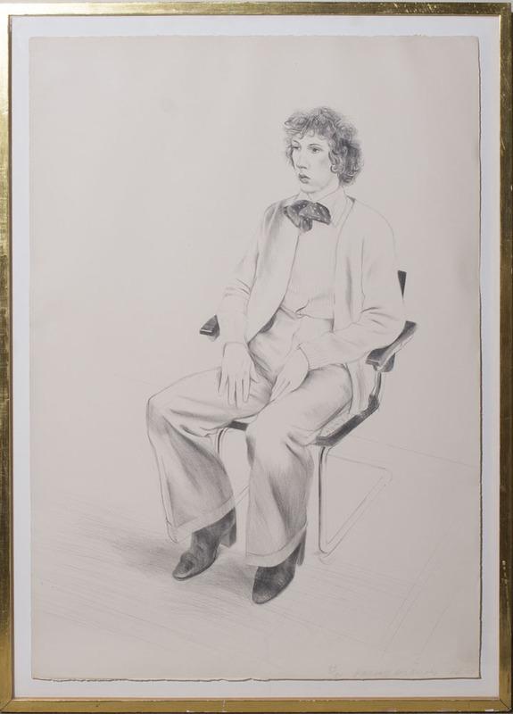 DAVID HOCKNEY (b. 1937): GREGORY