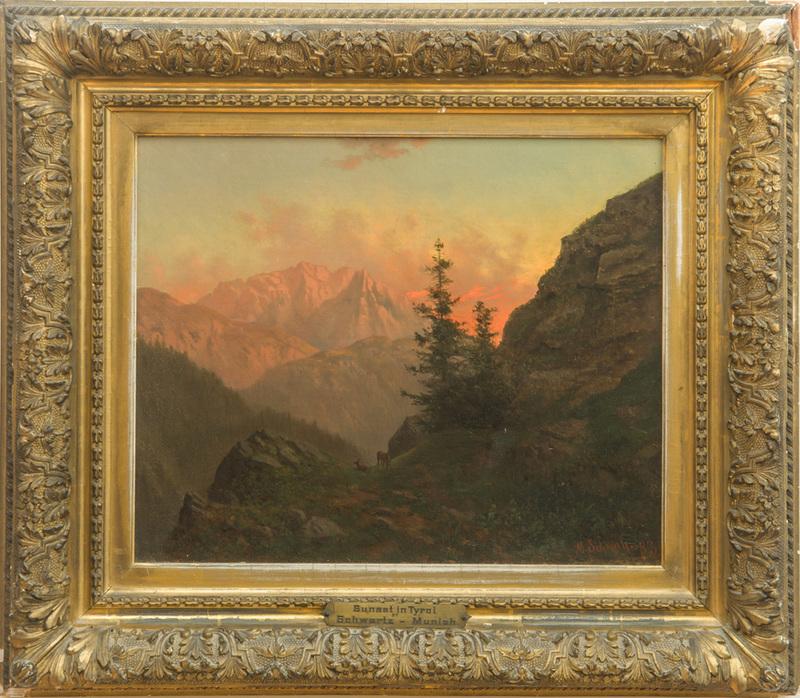 M. SCHWARTZ: SUNSET IN TYROL
