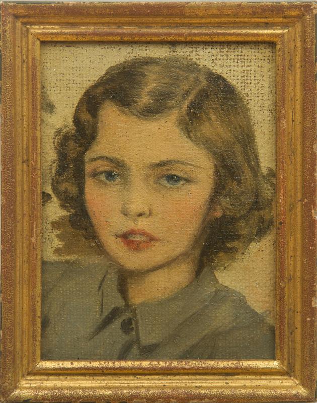 REX WHISTLER (1905-1944): PORTRAIT OF LADY PATRICIA DOUGLAS
