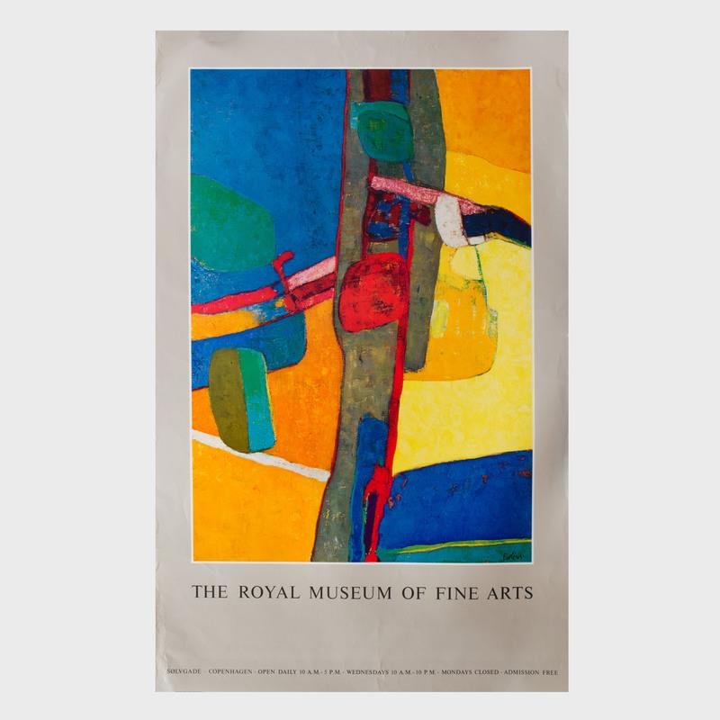 Royal Museum of Fine Arts, Copenhagen Poster