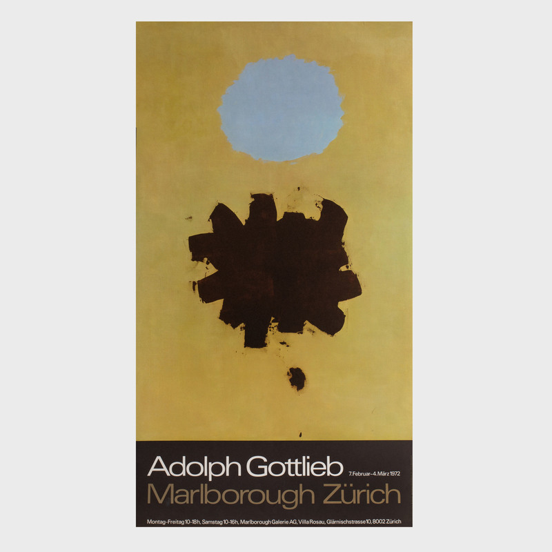 Three Adolph Gottlieb Posters