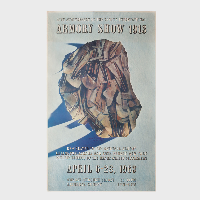 50th Anniversary Armory Show Poster