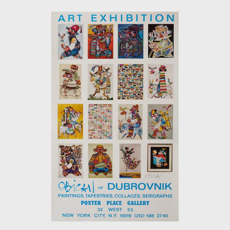 Obican of Dubrovnik Poster