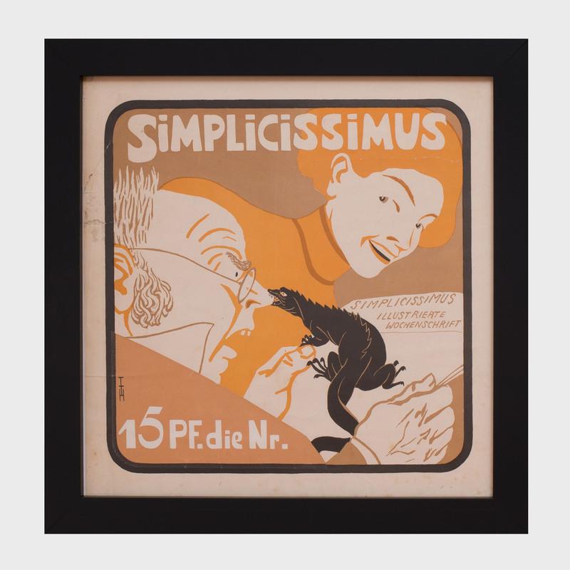 Thomas Theodor Heine (1867-1948): Simplicissimus