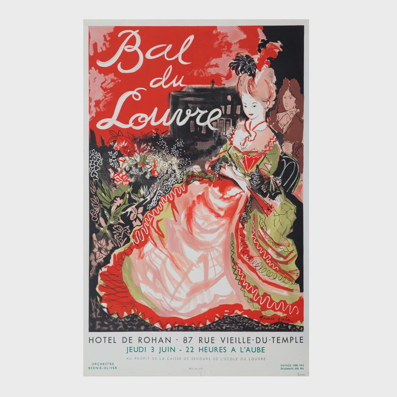 Three French Exhibition Posters