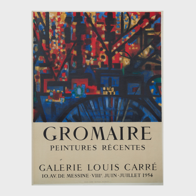 Four Marcel Gromaire Posters