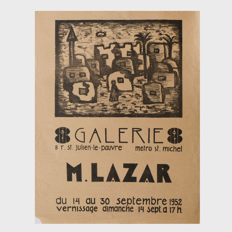 Two French Gallery Posters