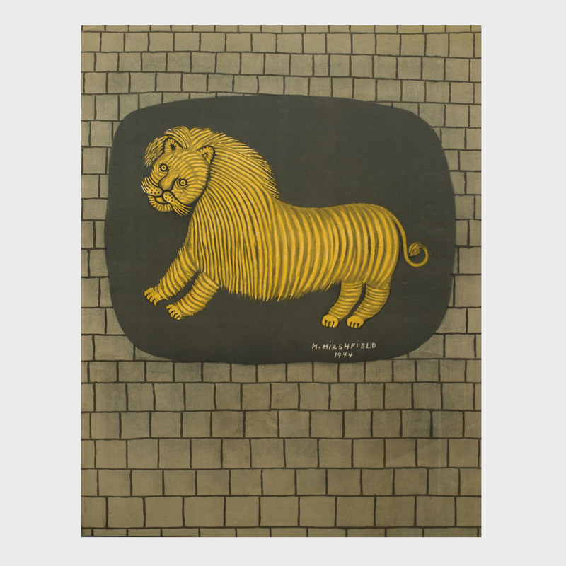 M. Hirshfield: Lion