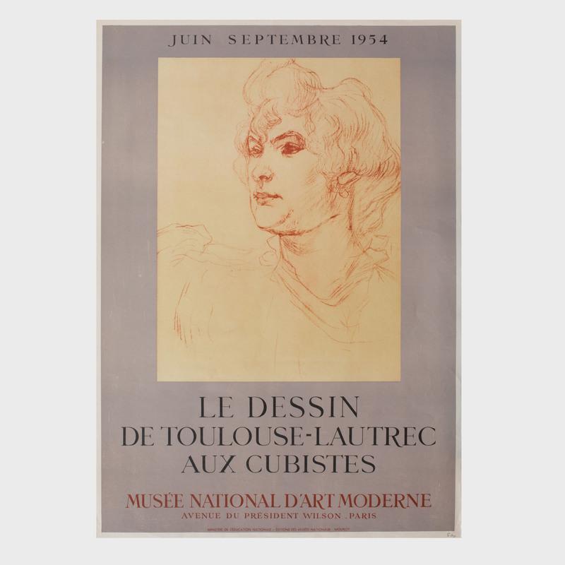 Two Henri de Toulouse-Lautrec Exhibition Posters