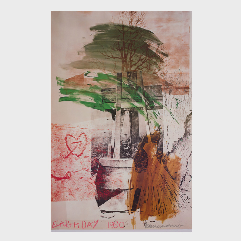 Robert Rauschenberg (1925-2008): Earth Day
