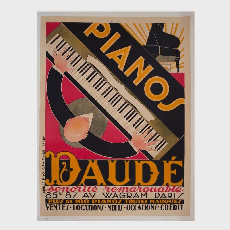 André Daudé (1897-1979): Pianos Daudé