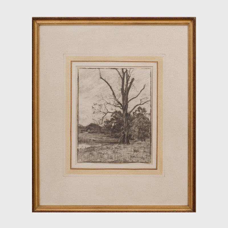 Eliot Clark  (1883 - 1980): Landscape at Chadd's Ford
