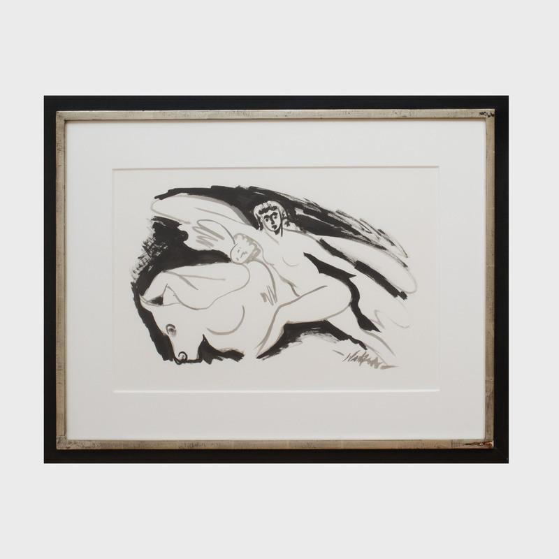 Reuben Nakian (1897 - 1986): Europa and the Bull