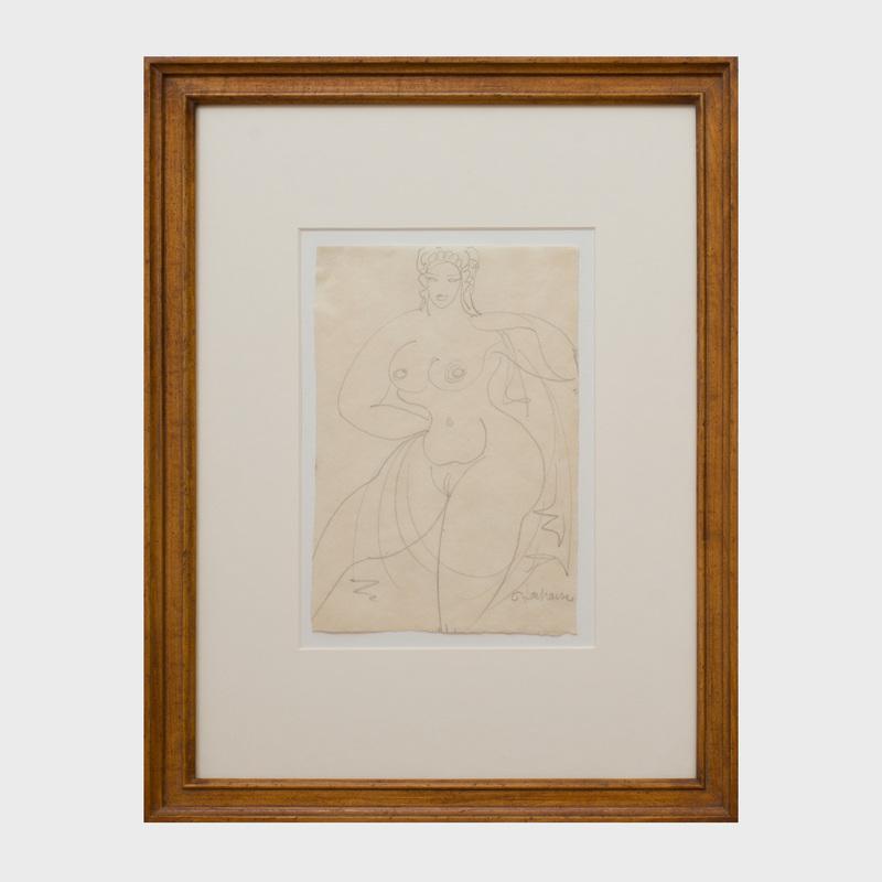 Gaston Lachaise (1882-1935): Nude