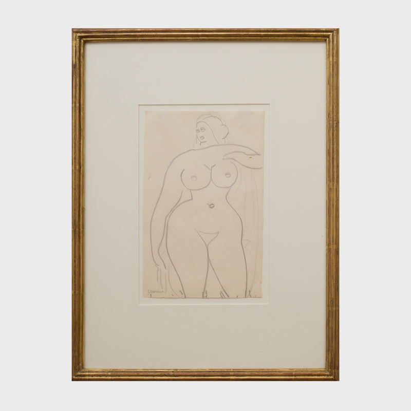 Gaston Lachaise (1882-1935): Standing Nude