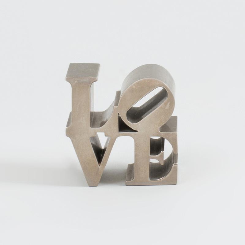 After Robert Indiana (b. 1928): LOVE