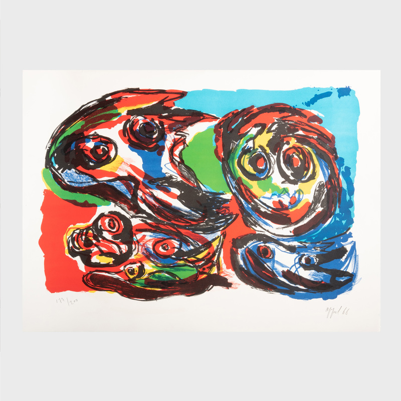 Karel Appel (1921-2006): La Grande Tête Rouge
