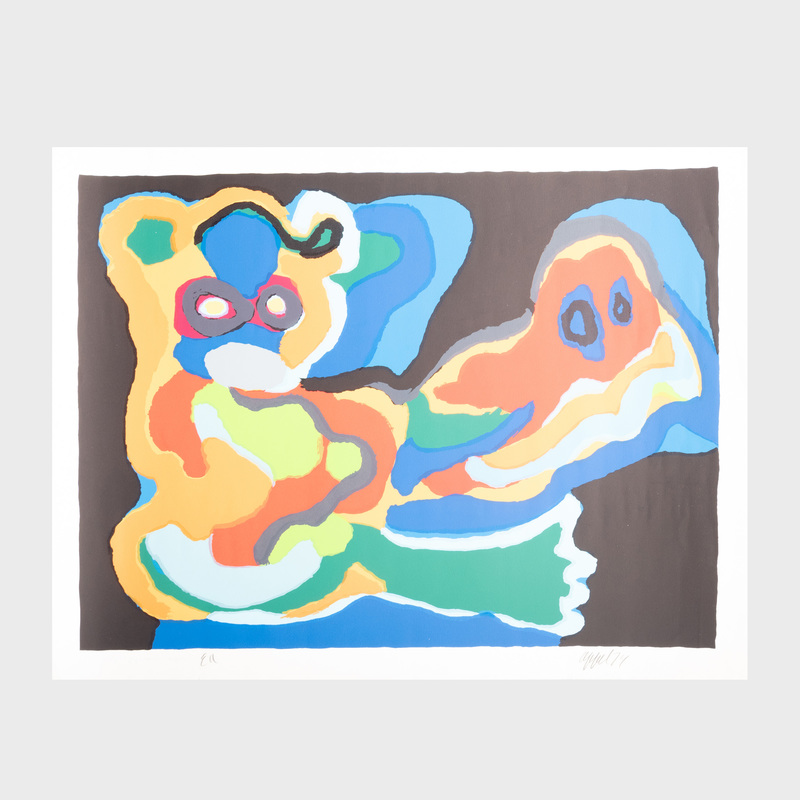 Karel Appel (1921-2006): Untitled
