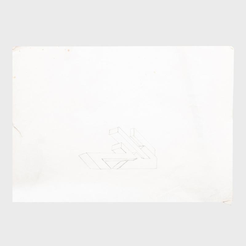Ronald Bladen (1918-1988):  Three Sketches