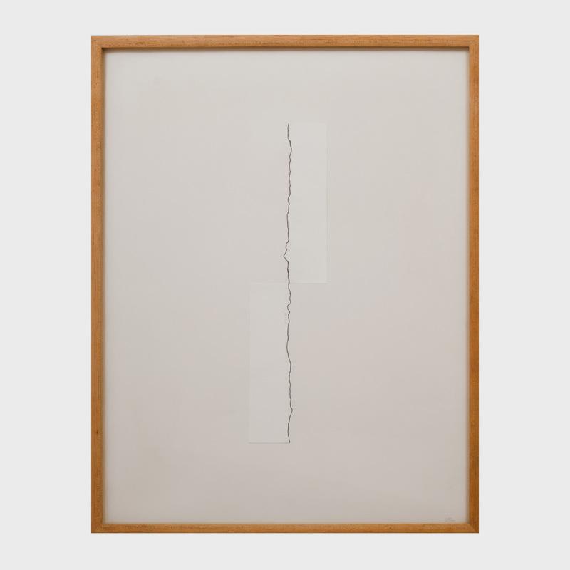 Michael Gitlin (b. 1943): Tear Defining Line
