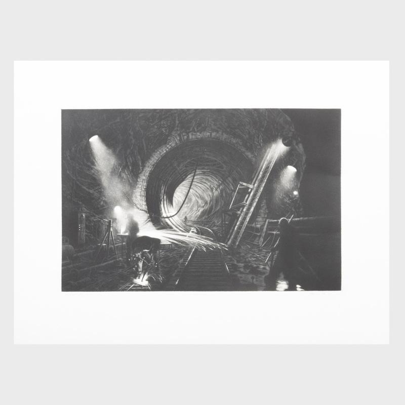 Craig McPherson (b. 1948): New York Water Tunnel