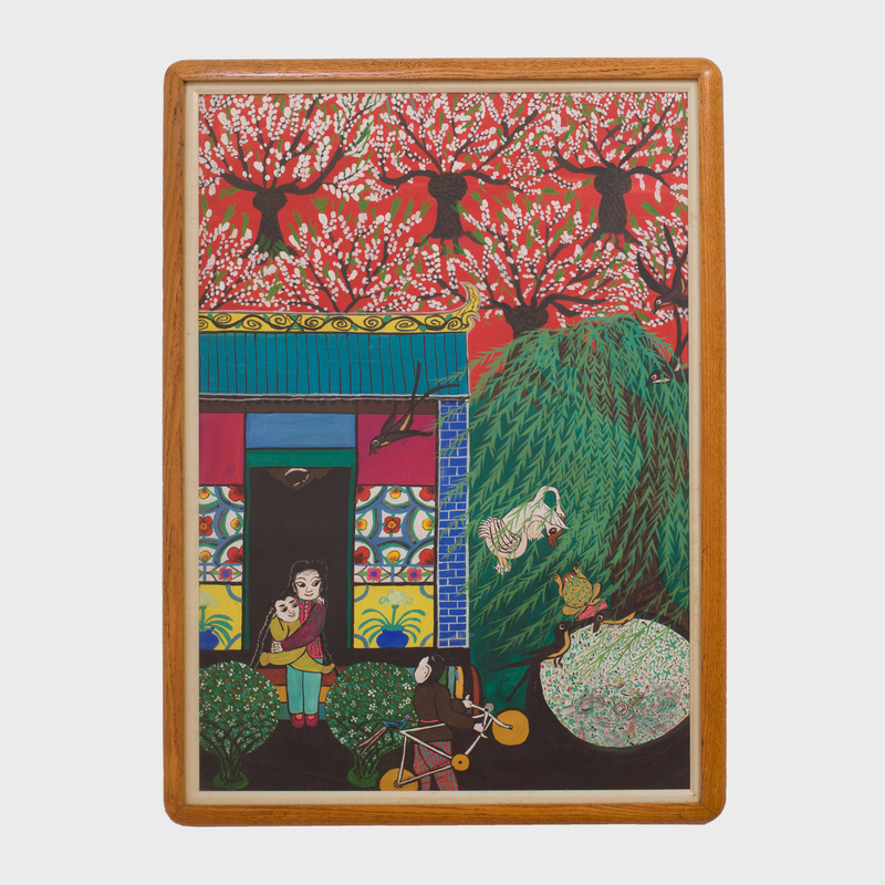 Chinese School (20th Century): A Spring Day
