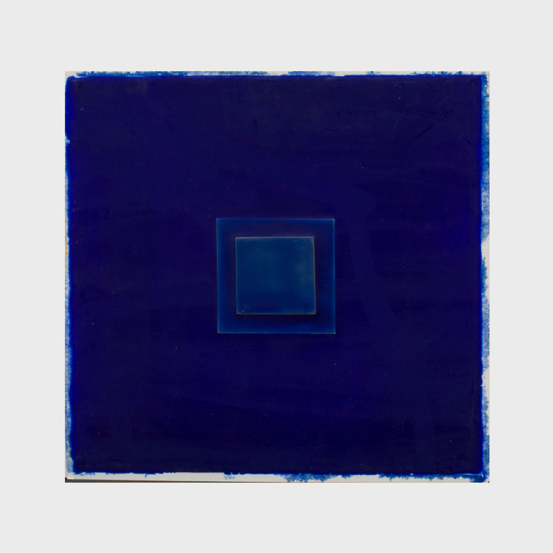 Susana Jaime-Mena: Untitled (Blue Squares)