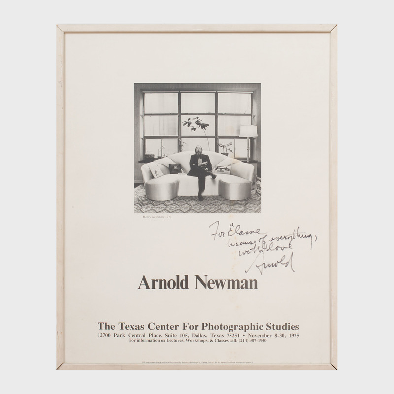 Arnold Newman Poster