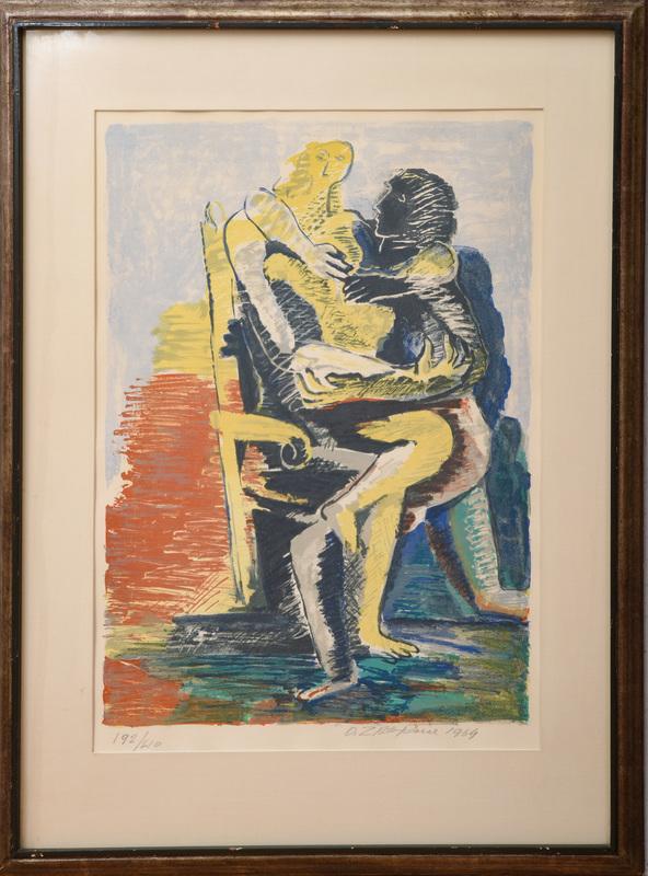 Ossip Zadkine (1890-1967): Lovers