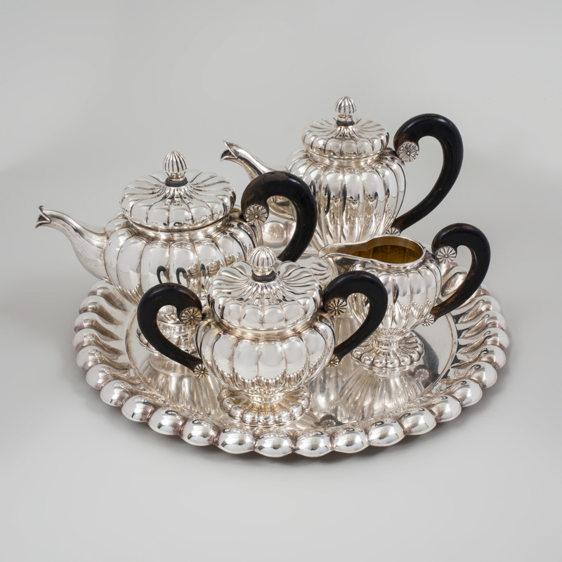 Continental Silver Four Piece Tea and Coffee Service