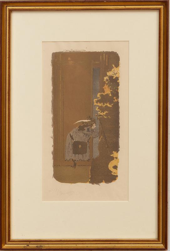 Pierre Bonnard (1867-1947): Dans la Rue