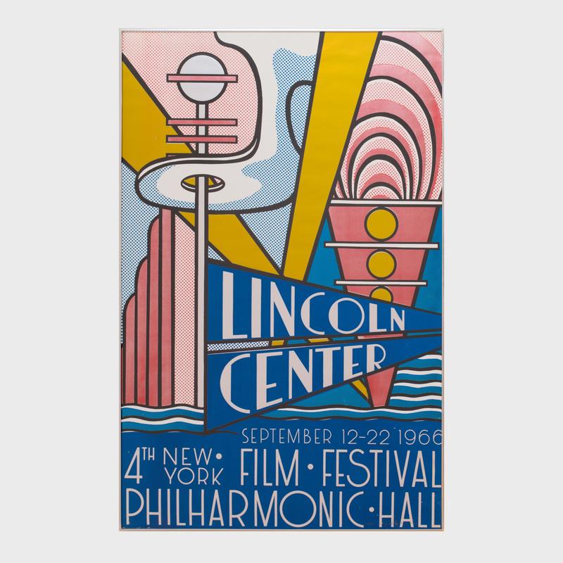 Roy Lichtenstein (1923-1997): New York Film Festival