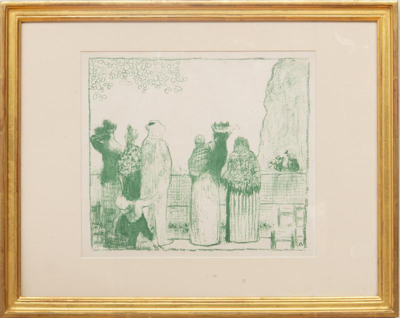 Edouard Vuillard (1868-1940): Croquis (Les Tuileries)