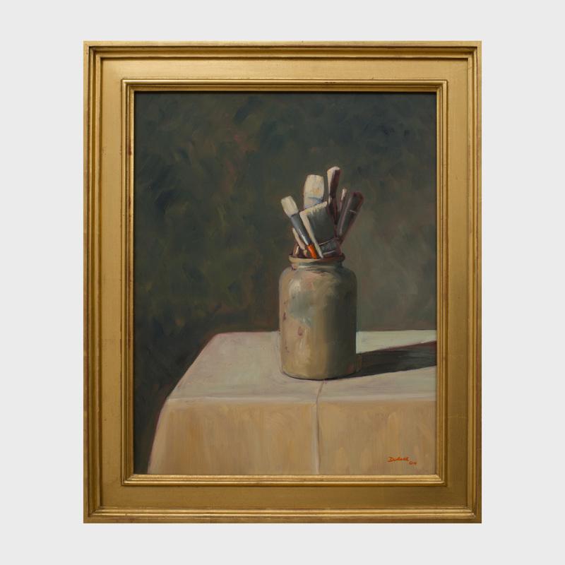 Byron Dobell (1927-2017): The Red Brush
