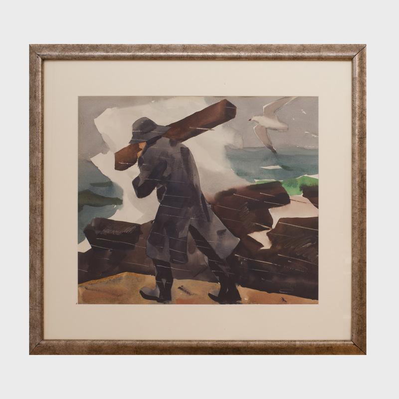James Fitzgerald (1869-1945): Driftwood