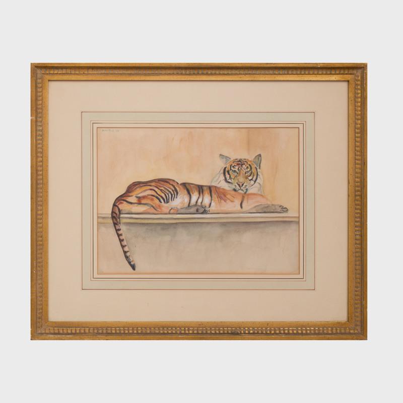 Walter Pach (1883-1958): Le Tigre