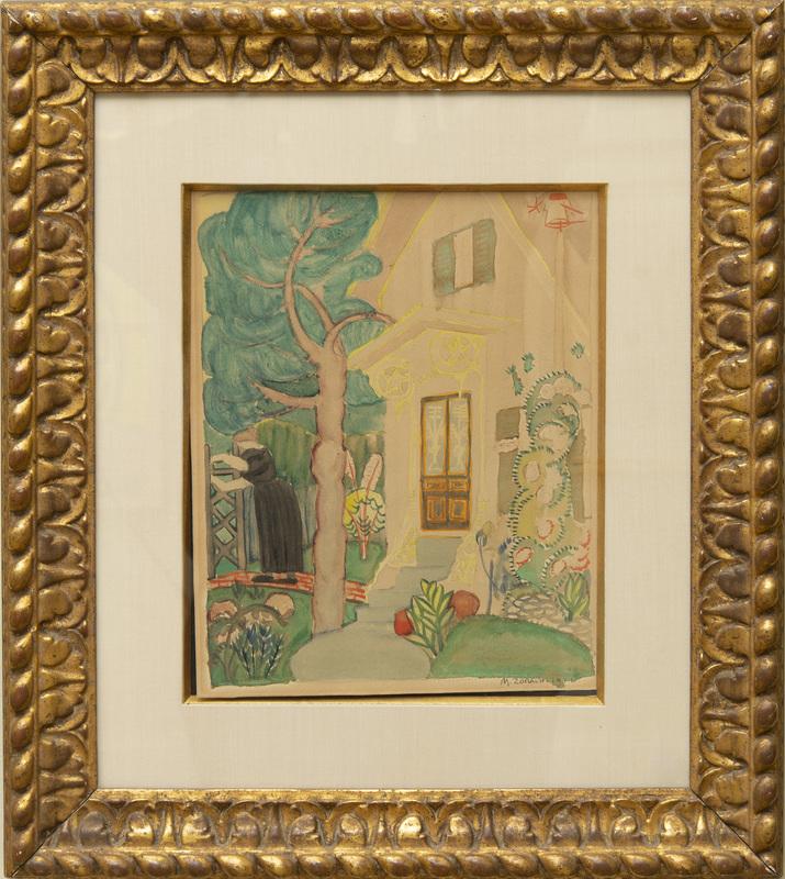 Marguerite Thompson Zorach (1887-1968): The Garden, Provincetown
