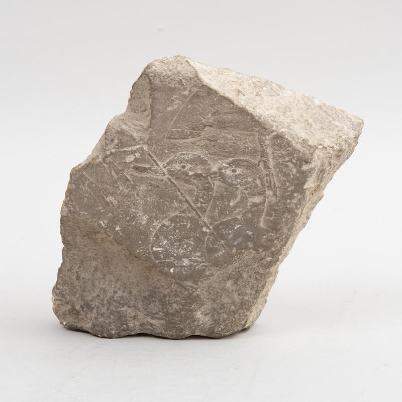 Egyptian Limestone Relief Fragment