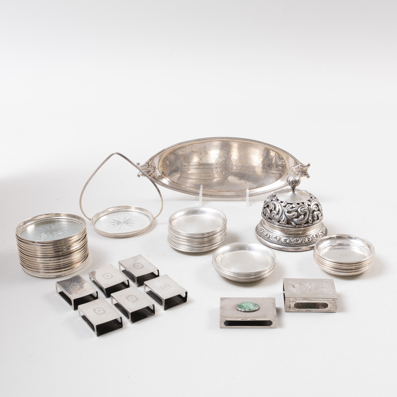 Group of American Silver Table Articles
