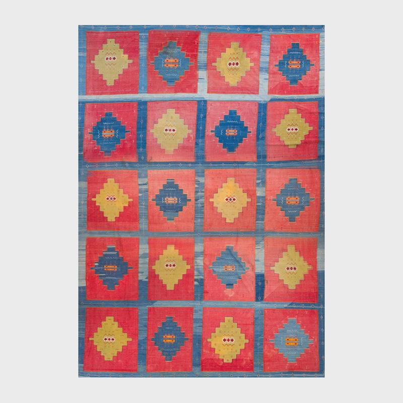 Wool Flatweave Carpet